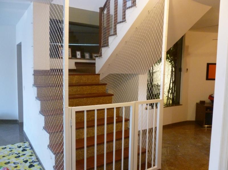 Rede de proteção para escadas em Curitiba