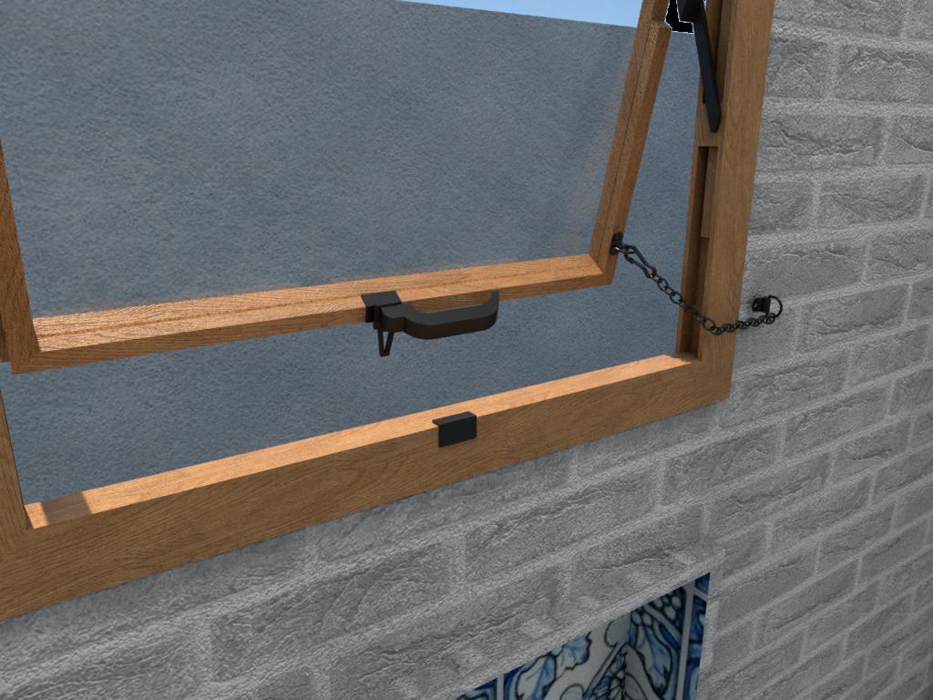 Limitadores para janelas